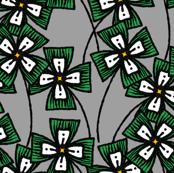 Boxy Clarkia Amoena - Green (Small)