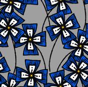 Boxy Clarkia Amoena - Blue (Small)