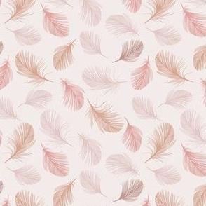 Blush feathers
