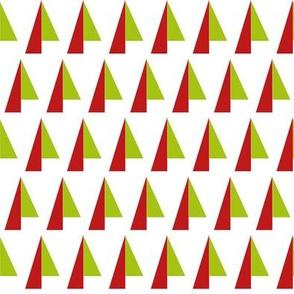 Abstract Christmas Trees 1