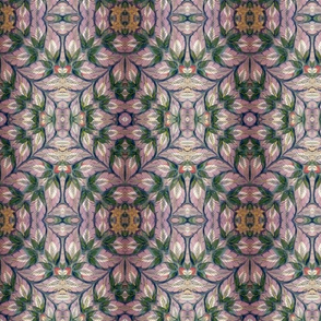 Jaipur Floral in Beige and Green