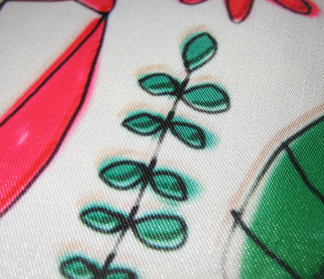 ballet scribble fleur