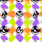Trippy Halloween Polka Dots