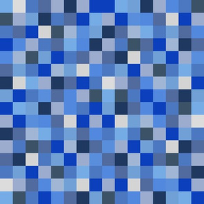 8-bit Pixels - Blues
