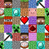 Regular Pixel Blocks - 6""