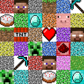 Regular Pixel Blocks - 3""