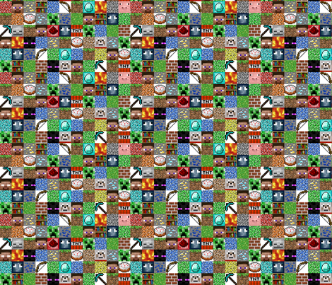 "Darker Pixel Blocks - 1.5"""