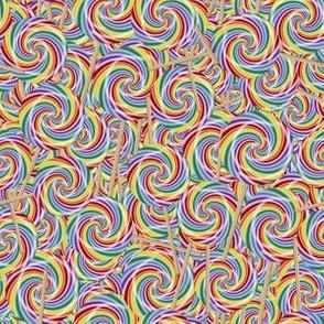 Rainbow Lollipops
