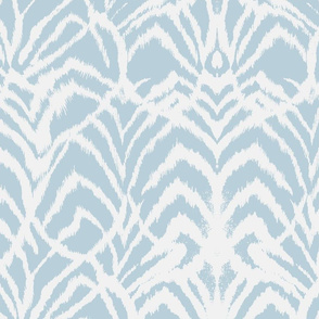 Wild Ikat French Blue