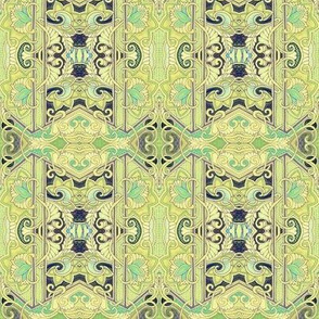 Lime Unlimited (formal vertical stripe)