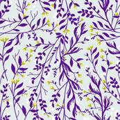 Tangled, Royal Purple Vines