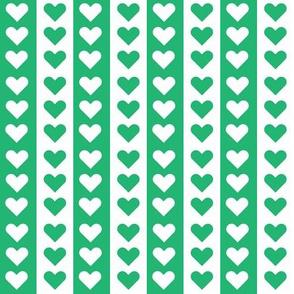 Lovely Stripes - Green
