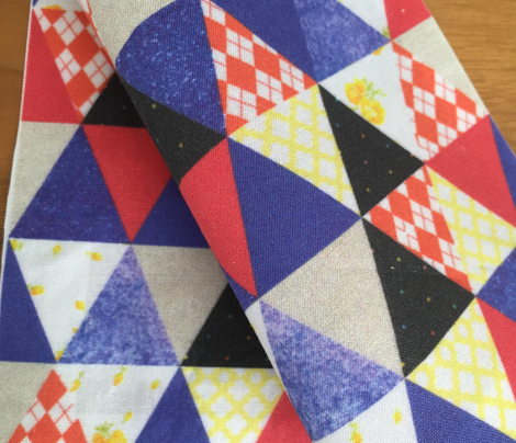 Triangles Patchwork