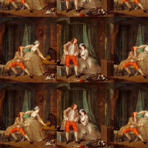 Before & After - William Hogarth (1730)