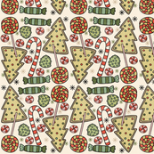 Christmas Treats Holiday Pattern