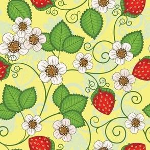 Strawberries - Yellow