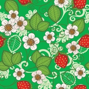 Strawberries - Green