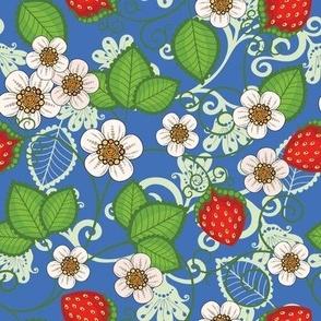 Strawberries - Blue