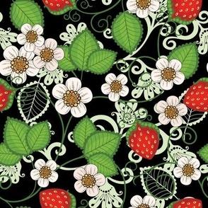 Strawberries - Black