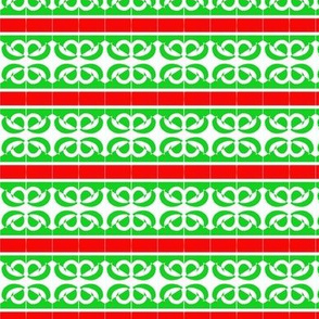 Holiday Paper Red Green