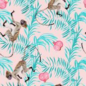 Fruity Monkeys (in Rose Quartz)