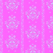 Fancy Felines pink light purple