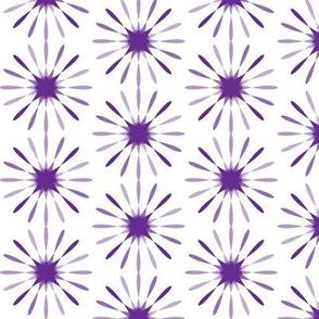 Starbursts Large - Purple