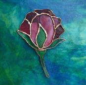 Tiffany Style Rose