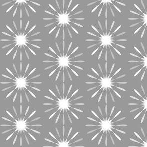 starburst large -white-grey