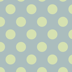 Polka Dot Green Slate