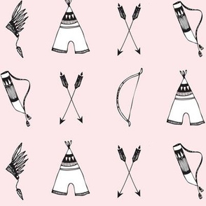 bow & arrow pink - elvelyckan
