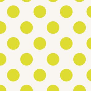 Polka Dot Lime