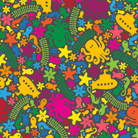 Under the Sea (Colorful)