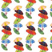 Rainbow Bumbershoots