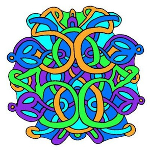 Colorful Celtic Knot