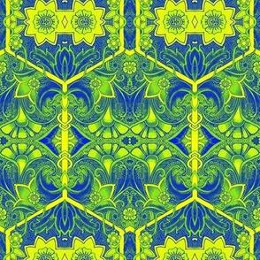 Lime Green Scene