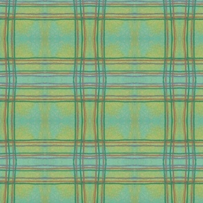 Plaid fox green