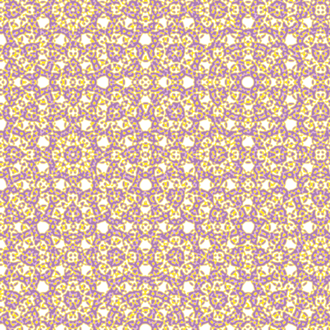 circle plaid in Spring Flowers