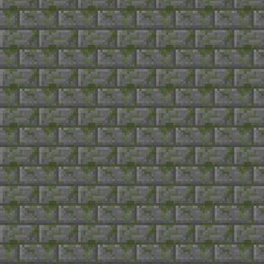 Mossy Cobblestone Bricks - Small