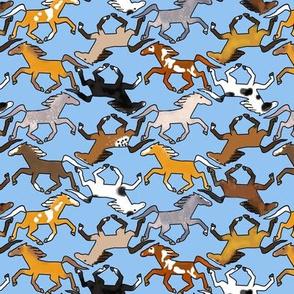 More Trotting Horses