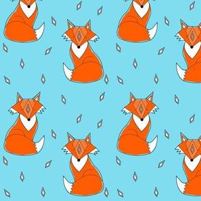 blue fox - elvelyckan