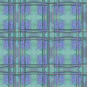 Plaid fox blue