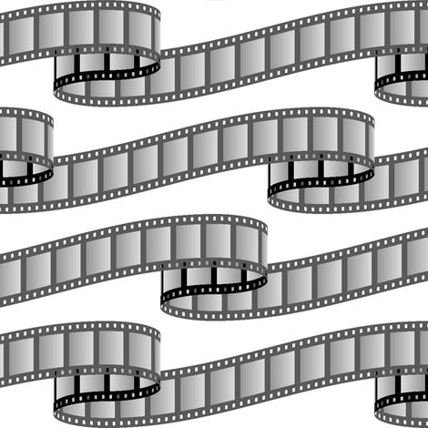 film ribbon - black and white
