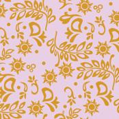 Tangled Wedding Purple