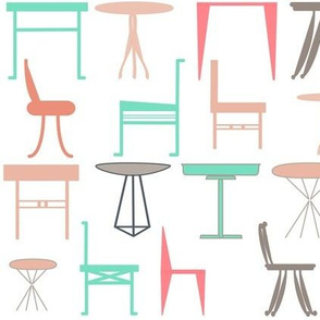 mix n match tables and chairs