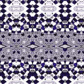 Inky Purple Checkers