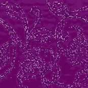 Royal Purple Brocade