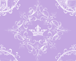 Rcastle_in_fancy_frame_white_pattern_quadrants_crown_orn_on_lavender_thumb