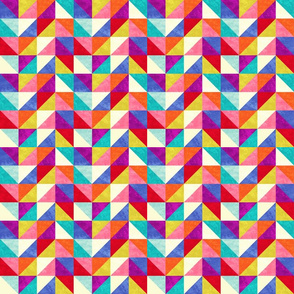 Jubilee - Colorful Triangle pattern