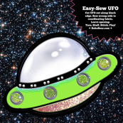 Easy Sew UFO Stuffie DIY Project